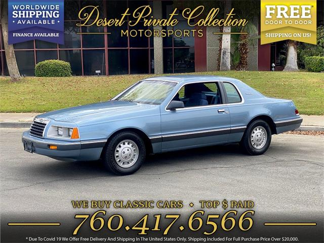 1986 Ford Thunderbird (CC-1486450) for sale in Palm Desert , California
