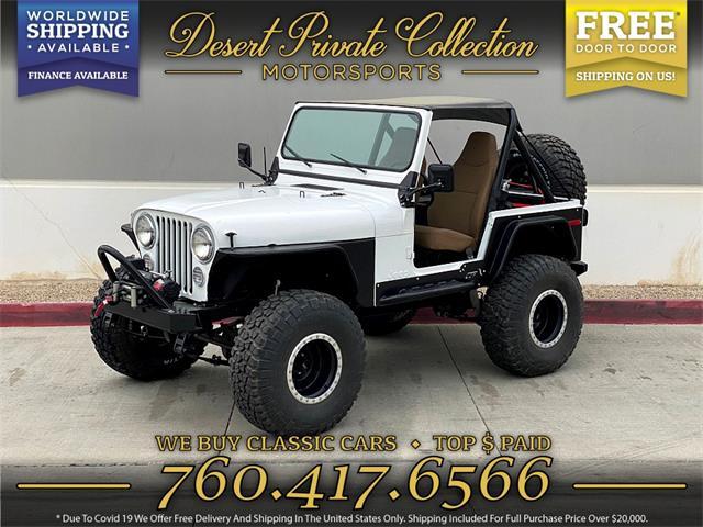 1980 Jeep Wrangler (CC-1486460) for sale in Palm Desert , California