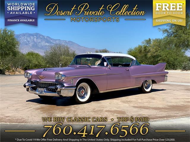 1958 Cadillac Series 62 (CC-1486461) for sale in Palm Desert , California