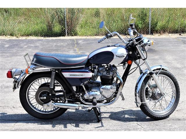 1976 Triumph Bonneville (CC-1486702) for sale in Alsip, Illinois