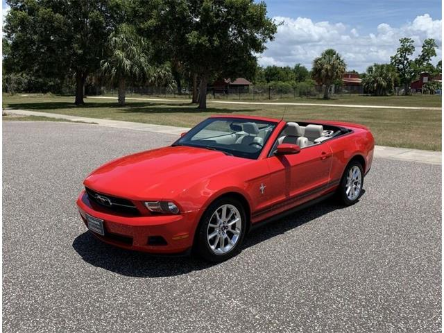 2010 Ford Mustang (CC-1486820) for sale in Clearwater, Florida