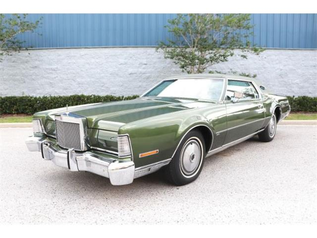 1973 Lincoln Continental (CC-1480687) for sale in Cadillac, Michigan