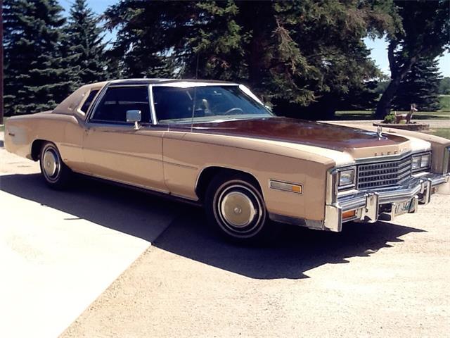 1978 Cadillac Eldorado (CC-1487033) for sale in Miami, Manitoba