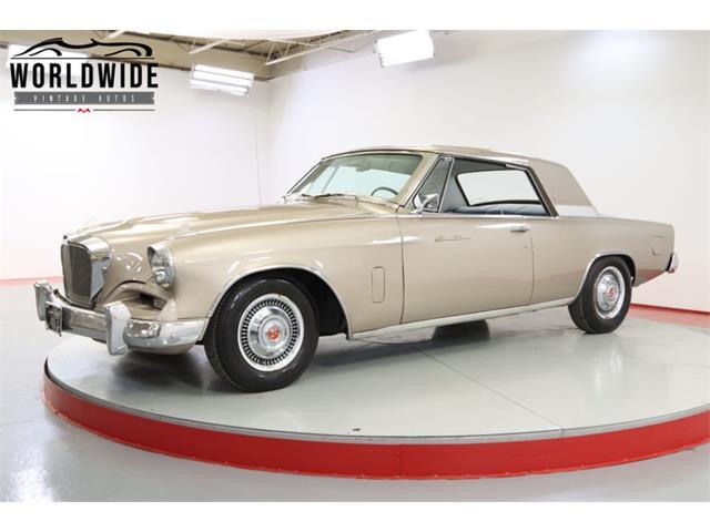 1962 Studebaker Gran Turismo (CC-1487051) for sale in Denver , Colorado