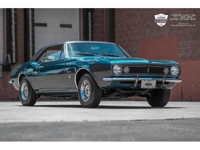 1967 Chevrolet Camaro (CC-1487137) for sale in Milford, Michigan