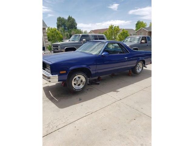 1987 Chevrolet El Camino (CC-1480719) for sale in Cadillac, Michigan