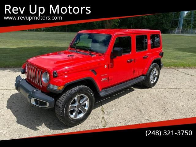 2020 Jeep Wrangler (CC-1487239) for sale in Shelby Township, Michigan