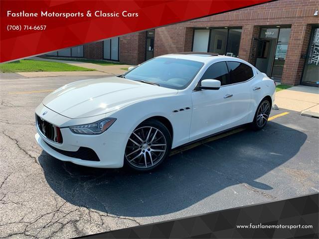 2016 Maserati Ghibli (CC-1487272) for sale in Addison, Illinois