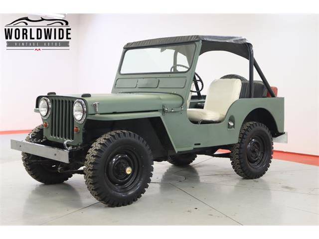 1950 Willys Jeep (CC-1480073) for sale in Denver , Colorado