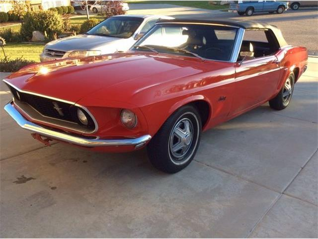 1969 Ford Mustang (CC-1480742) for sale in Cadillac, Michigan