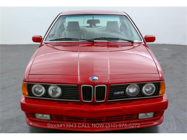 1987 BMW M6 (CC-1487433) for sale in Beverly Hills, California