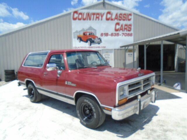 1989 Dodge Ramcharger (CC-1487473) for sale in Staunton, Illinois