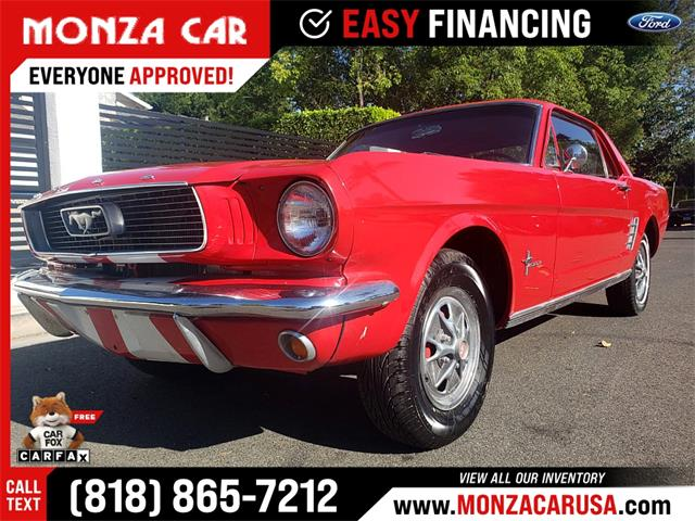1966 Ford Mustang (CC-1487566) for sale in Sherman Oaks, California