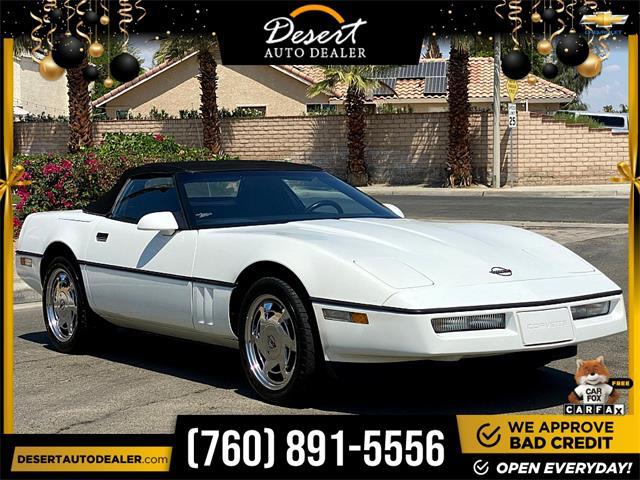 1989 Chevrolet Corvette (CC-1487969) for sale in Palm Desert, California