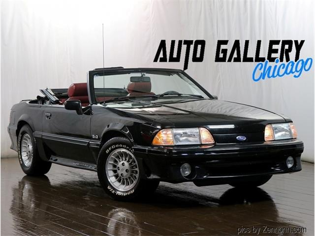 1989 Ford Mustang (CC-1488337) for sale in Addison, Illinois