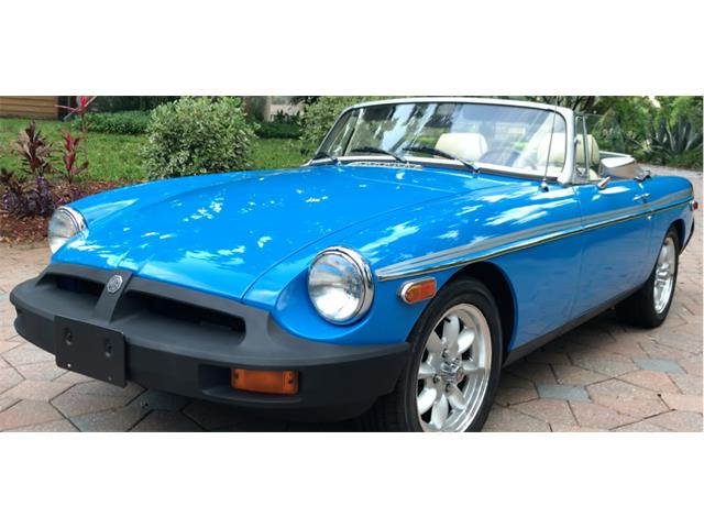 1980 MG MGB (CC-1488442) for sale in Jakcsonville, Florida
