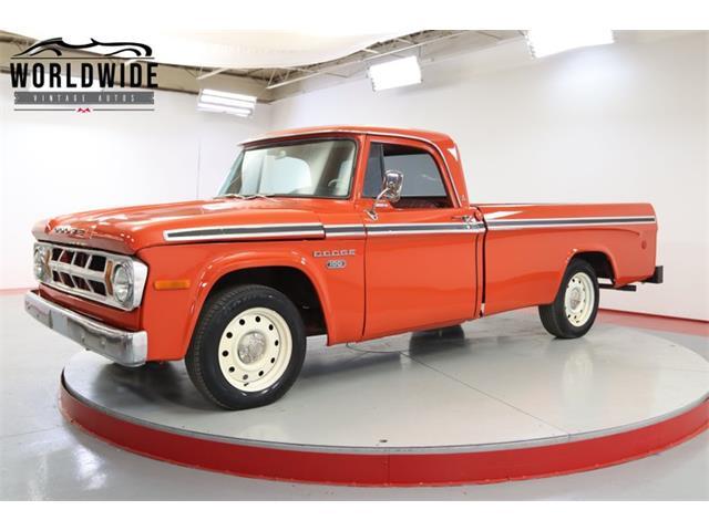 1968 Dodge D100 (CC-1488554) for sale in Denver , Colorado