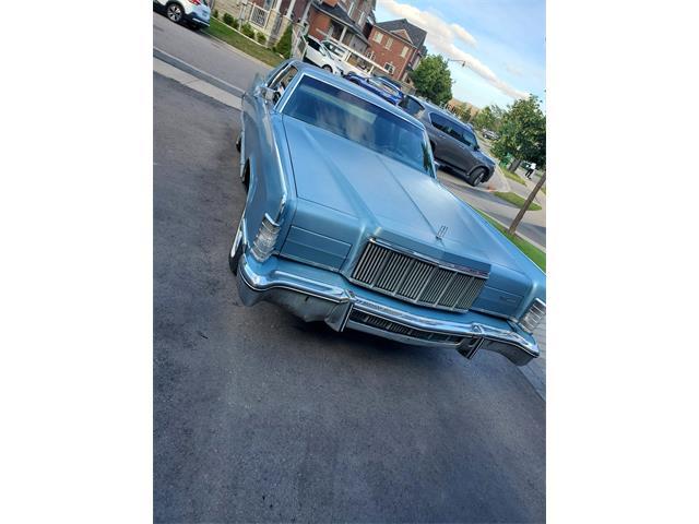 1976 Lincoln Continental (CC-1488707) for sale in Brampton, Ontario