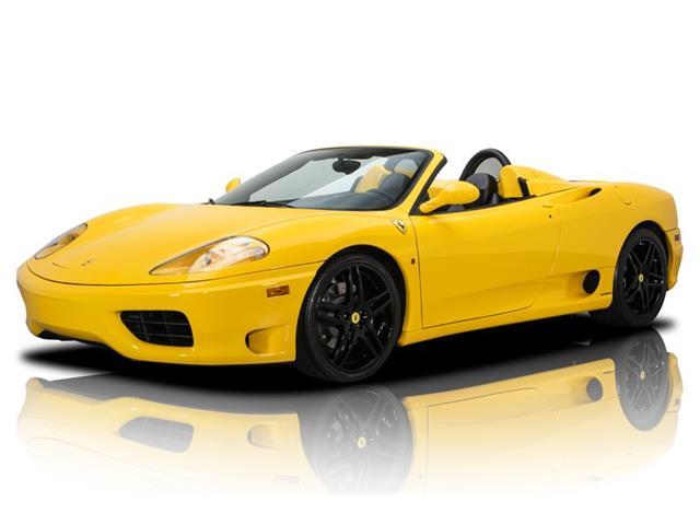2002 Ferrari 360 (CC-1488780) for sale in Charlotte, North Carolina