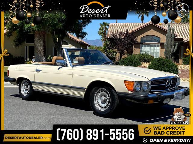 1981 Mercedes-Benz 380SL (CC-1480917) for sale in Palm Desert, California