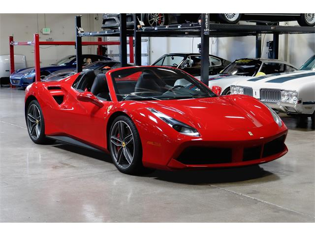 2017 Ferrari 488 Spider (CC-1489537) for sale in San Carlos, California
