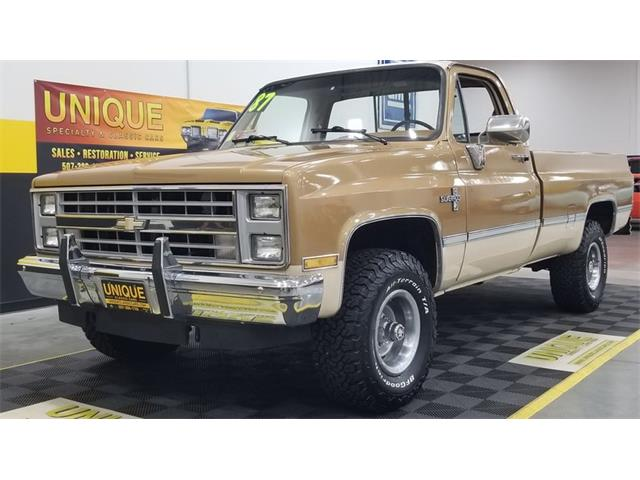 1987 Chevrolet K-10 (CC-1489729) for sale in Mankato, Minnesota