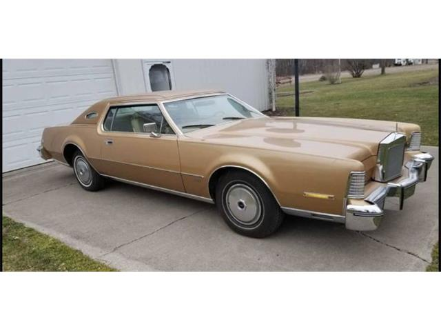 1975 Lincoln Continental (CC-1489796) for sale in Cadillac, Michigan