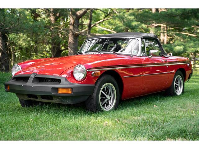 1980 MG MGB (CC-1489828) for sale in Ambler, Pennsylvania