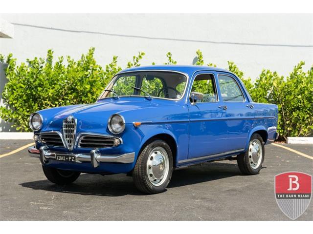 1961 Alfa Romeo Giulietta (CC-1489832) for sale in Miami, Florida