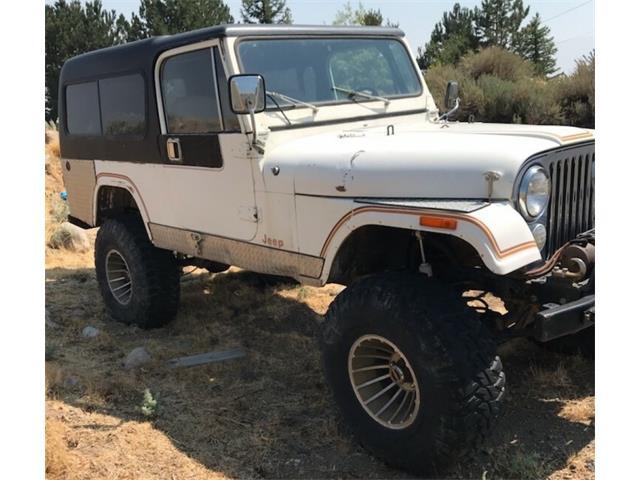 1981 Jeep CJ8 Scrambler (CC-1491043) for sale in Reno, Nevada