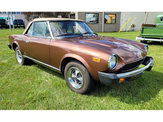 1979 Fiat Spider (CC-1491059) for sale in Troy, Michigan