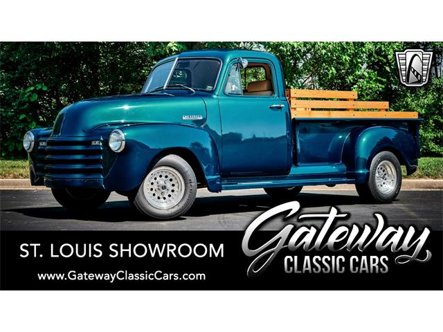1952 Chevrolet 3100 (CC-1491270) for sale in O'Fallon, Illinois