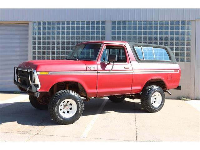 1979 Ford Bronco (CC-1491436) for sale in Denver , Colorado