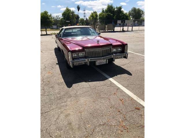 1975 Cadillac Eldorado (CC-1491521) for sale in Cadillac, Michigan
