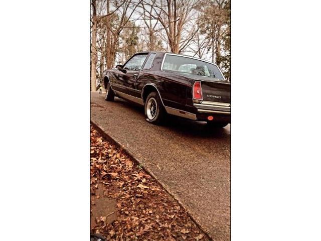 1986 Chevrolet Monte Carlo (CC-1491600) for sale in Cadillac, Michigan