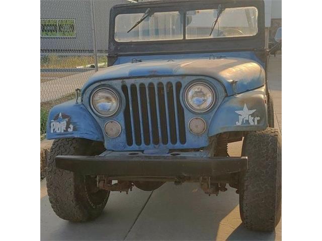 1973 Jeep CJ5 (CC-1491601) for sale in Cadillac, Michigan