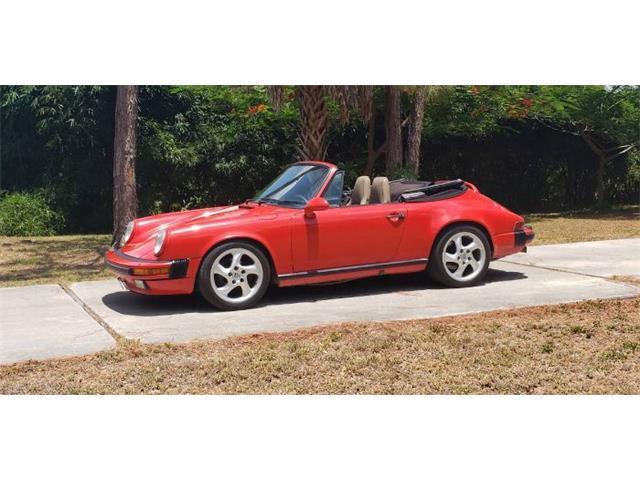 1986 Porsche 911 Carrera (CC-1491604) for sale in Cadillac, Michigan