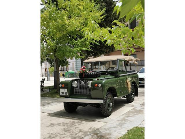 1963 Land Rover Series IIA (CC-1491747) for sale in Santisteban Del Puerto, Jaén
