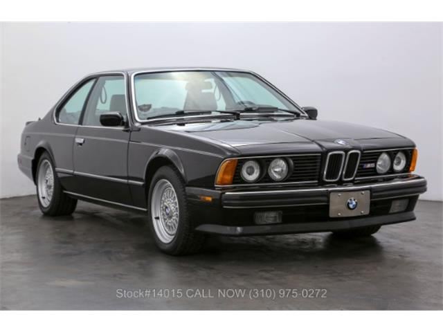 1988 BMW M6 (CC-1491884) for sale in Beverly Hills, California