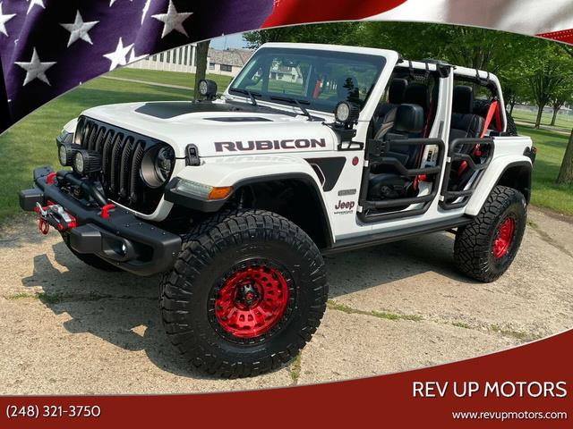 2020 Jeep Wrangler (CC-1492127) for sale in Shelby Township, Michigan