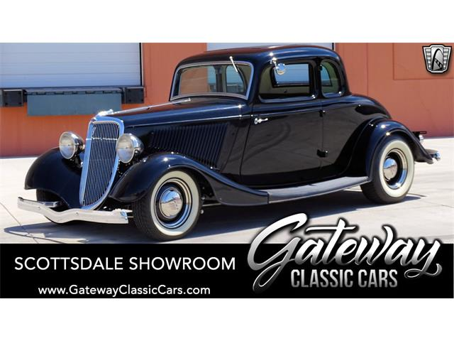 1934 Ford 5-Window Coupe (CC-1490236) for sale in O'Fallon, Illinois