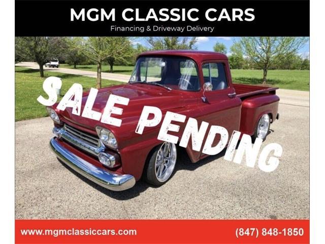 1959 Chevrolet Apache (CC-1492381) for sale in Addison, Illinois