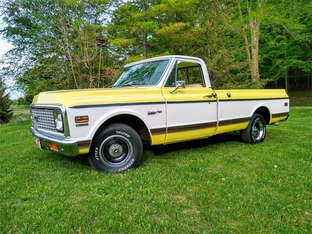 1972 Chevrolet C10 (CC-1492589) for sale in Lapeer, Michigan