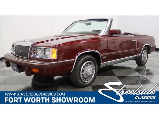 1986 Chrysler LeBaron (CC-1492701) for sale in Ft Worth, Texas