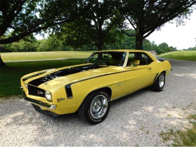 1969 Chevrolet Camaro (CC-1492741) for sale in Cadillac, Michigan