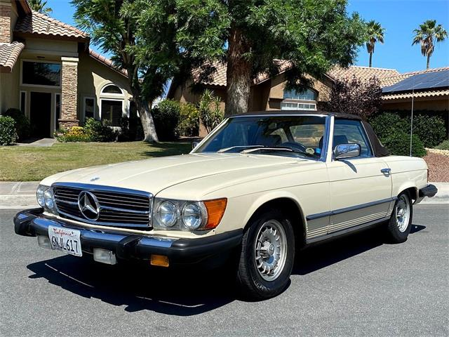 1981 Mercedes-Benz 380SL (CC-1493234) for sale in Palm Desert, California