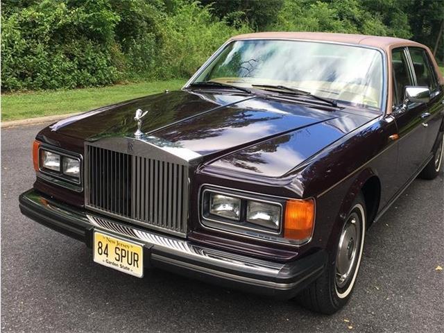 1984 Rolls-Royce Silver Spur (CC-1490418) for sale in Califon, New Jersey