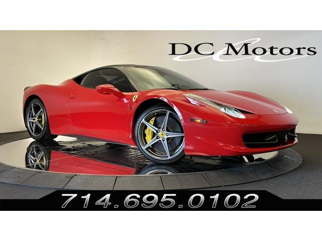 2011 Ferrari 458 (CC-1490836) for sale in Anaheim, California