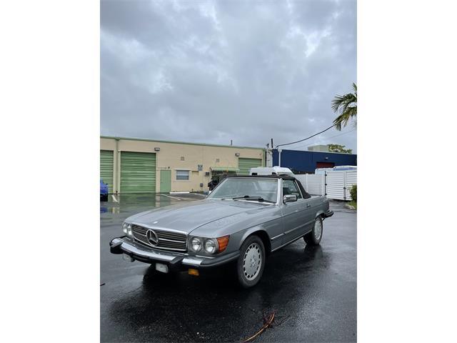 1989 Mercedes-Benz 560SL (CC-1490940) for sale in North Miami Beach, Florida