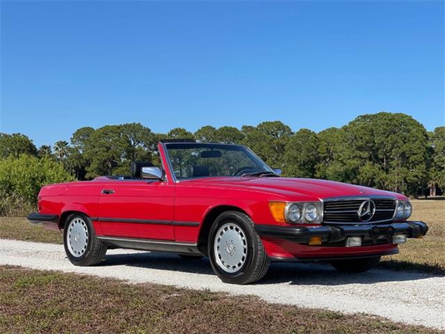 1987 Mercedes-Benz 560SL (CC-1504818) for sale in Boca Raton, Florida